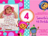 Umizoomi Birthday Invitations Team Umizoomi Birthday Invitations U Print 24hr Service
