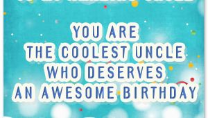 Uncle Birthday Card Messages Happy Birthday Wishes for Uncle Wishesquotes