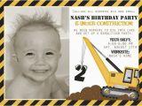 Under Construction Birthday Invitations Construction Birthday Party Invitations Ideas Bagvania