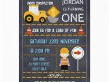 Under Construction Birthday Invitations Under Construction Chalkboard Birthday Invitation Zazzle