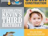 Under Construction Birthday Invitations Under Construction Photo Invitation