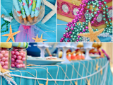 Under the Sea Birthday Decoration Ideas Under the Sea Mermaid Birthday Party Party Ideas Party