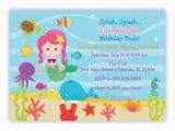 Under the Sea Birthday Invitations Printable Under the Sea Birthday Invitation Choose Mermaid You Print
