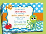 Under the Sea Birthday Invitations Printable Under the Sea Invitation Printable or Printed with Free