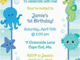Under the Sea First Birthday Invitations 17 Best Images About Turtle Birthday Party On Pinterest