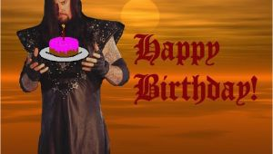Undertaker Birthday Card Happy Birthday Undertaker Version Photo by