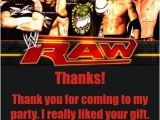 Undertaker Birthday Card Wwe Raw Thank You Cards Wwe Raw Thank You Cards This Thank