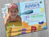 Underwater Birthday Invitations Underwater Birthday Invitations Water Pool Birthday Party