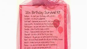 Unique 18th Birthday Gifts for Him 18th Birthday Gift Unique Survival Kit Hot Pink 18th