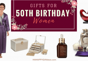Unique 50th Birthday Gifts For Her The Best Women Hahappy Gift Ideas