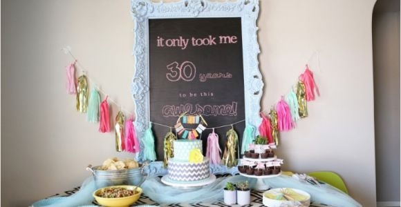 Unique Birthday Gifts for 30 Year Old Woman 7 Clever themes for A Smashing 30th Birthday Party