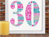 Unique Birthday Gifts for Her 30th Birthday Personalized Birthday Gift 30th Birthday 30th by Blingprints