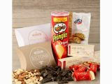 Unique Birthday Gifts for Him south Africa Snack attack Hamper with Biltong Chips Nougat