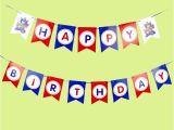 Unique Happy Birthday Banners Transformer Diy Garland Happy Birthday Banner Unique