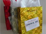 Unusual 60th Birthday Gifts for Her Female 60th Birthday Survival Kit Humorous Gift Idea