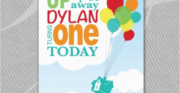 Up Movie Birthday Invitations 17 Best Images About Quot Up Quot theme Party On Pinterest Party