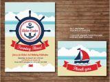 Usmc Birthday Card Items Similar to Nautical Marine Birthday Party Printable