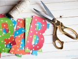 Vahini Saheb Happy Birthday Banner Gold Polka Dot Happy Birthday Banner 7 More Free