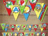 Vahini Saheb Happy Birthday Banner Printable Happy Birthday Pennant Banner Printable Mickey