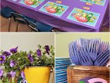 Veggie Tales Birthday Decorations Pink and Purple Veggie Tales theme Party Hostess with