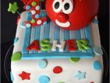 Veggie Tales Birthday Decorations Veggietales Bob the tomato 1st Birthday Cake