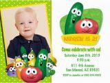 Veggie Tales Birthday Invitations 1000 Images About Veggietales Birthday Party On Pinterest