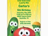 Veggie Tales Birthday Invitations Never Ever Ever Birthday Party Invitations Paperstyle