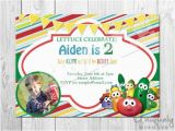Veggie Tales Birthday Invitations top 50 Ideas About Veggie Tales Birthday Party On
