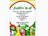 Veggie Tales Birthday Invitations Veggie Tales Invitations Myideasbedroom Com