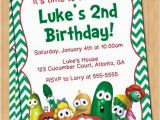 Veggie Tales Birthday Invitations Veggie Tales Printable Invitations Party Invitations Ideas