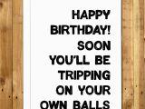 Very Rude Birthday Cards Funny Birthday Card for Men Card for Him Rude Birthday Card