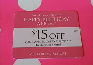 Victoria S Secret Angel Card Birthday Gift Nice 39 15 Off Happy