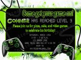 Video Game Birthday Party Invitation Template Free Party Invitation Templates Video Game Party Invitations