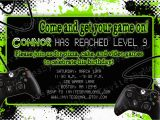 Video Game Birthday Party Invitation Template Free Video Game Party Invitations Video Game Party Invitations