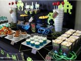 Video Game themed Birthday Party Decorations 10 Real Parties for Boys Spaceships and Laser Beams