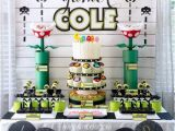 Video Game themed Birthday Party Decorations Game On An Ulitmate Gaming Party