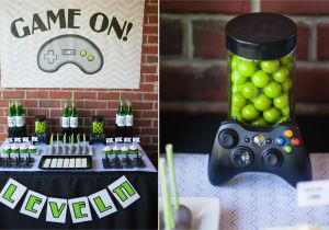 Video Game Themed Birthday Party Decorations Truck Ideas Wedding