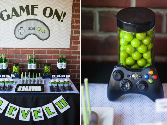 Download By SizeHandphone Tablet Desktop Original Size Back To Video Game Themed Birthday Party Decorations