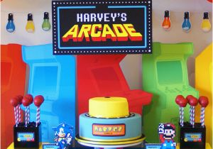 Video Game Themed Birthday Party Decorations Kara 39 S Party Ideas