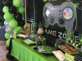 Video Game themed Birthday Party Decorations Video Game Party Leo 39 S 8th Birthday Pinte