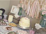 Vintage 1st Birthday Decorations Kara 39 S Party Ideas Shabby Chic Girl Vintage 1st Birthday