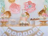 Vintage 1st Birthday Decorations Kara 39 S Party Ideas Vintage Carousel 1st Birthday Party