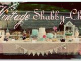 Vintage 1st Birthday Decorations Vintage Shabby Chic 1st Birthday Party Pizzazzerie