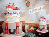Vintage Airplane Birthday Decorations Kara 39 S Party Ideas Vintage Airplane 2nd Birthday Party