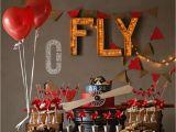 Vintage Airplane Birthday Decorations Vintage Airplane Birthday Party Ideas Photo 4 Of 21