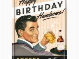 Vintage Birthday Cards for Men Metalowa Pocztowka Retro Quot Happy Birthday Man Quot Mini Szyldy