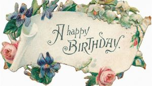 Vintage Birthday Cards Free Downloads Free Clip Art From Vintage Holiday Crafts Blog Archive