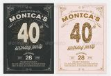 Vintage Style Birthday Invitations 19 Great Birthday Invitation Cards Psds Design Freebies