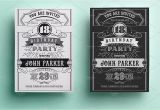 Vintage Style Birthday Invitations Vintage Birthday Invitation Invitation Templates