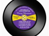 Vinyl Record Birthday Invitations 69 45 Record Invitations 45 Record Announcements